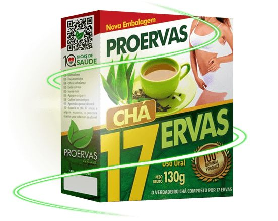 Chá 17 Ervas